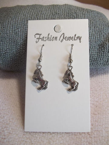 Silver Horses Earrings (E750)