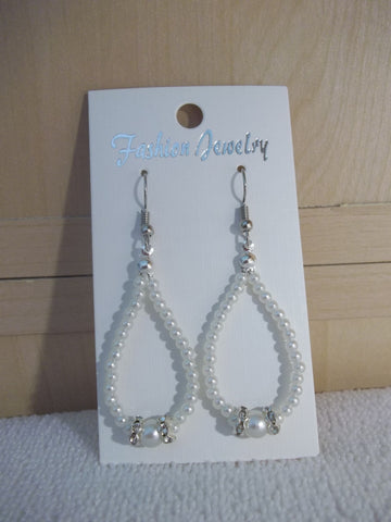 Pearl Bling Earrings (E933)