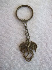 Bronze Dragon Key Chain (K345)