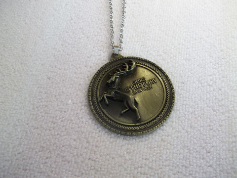 Game of Thrones Stag Pendant Necklace (N1147)