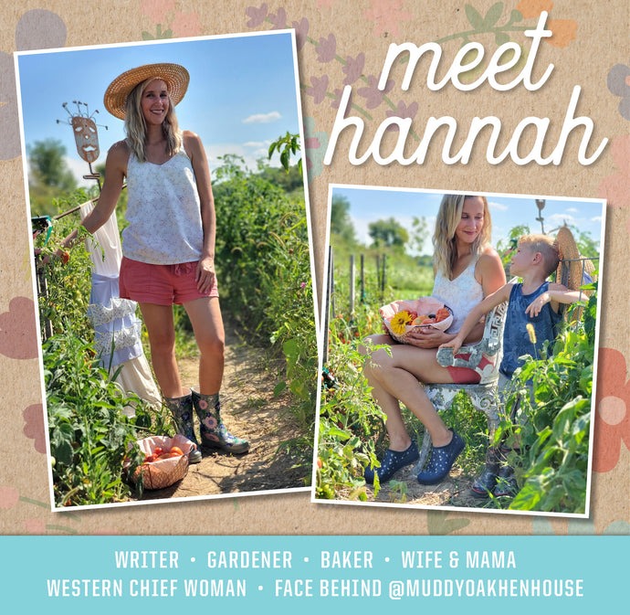 Western Chief Family: Hannah of @muddyoakhenhouse