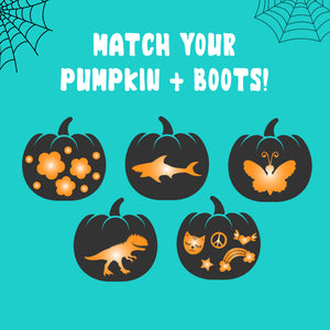 Match your pumpkin + boots