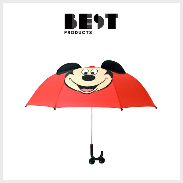 Best Products - The Best Kids Umbrellas - Western Chief Mickey Mouse Umbrella - Kids Rain Boots - Kids Rain Gear Sets