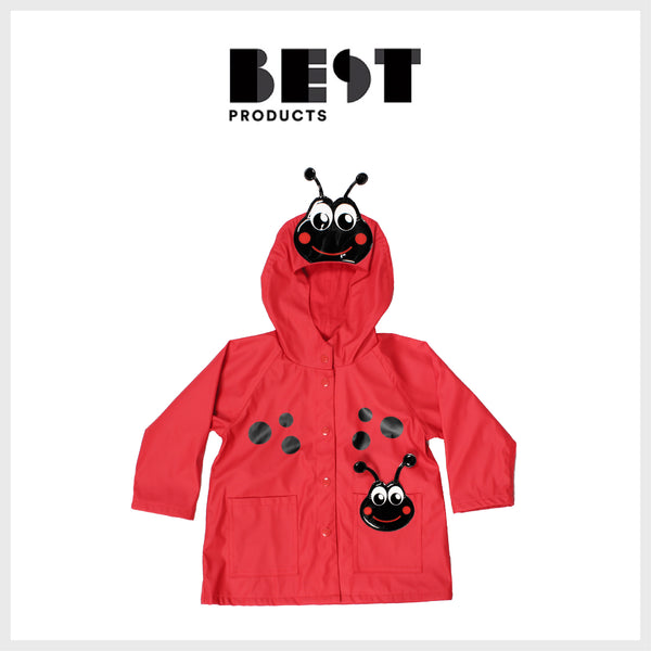 Best Products - Western Chief Ladybug Hooded Raincoat
