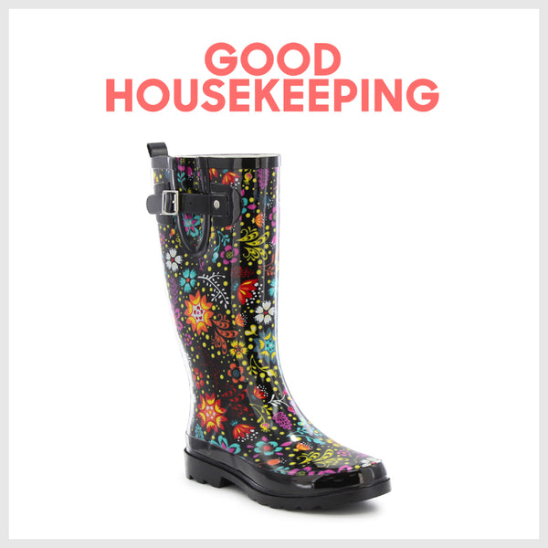 Good Housekeeping - 10 Best Rain Boots for Women - Western Chief - Womens Garden Play rain Boots - Rain Boots for Women - Womens Boots