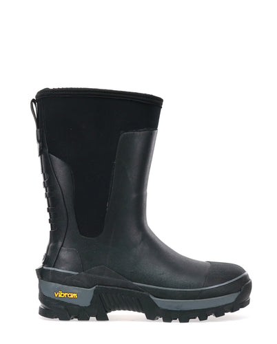 Men's Neoprene Mid Winter Snow Boot - Black