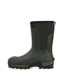 Men's Safety Neoprene Mid Winter Snow Boot - Olive Drab