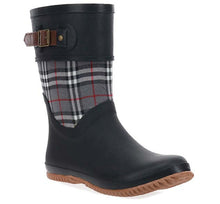 Women's Lauren Mid Rain Boot - Black