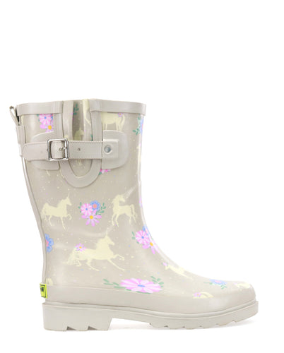 Women's Misty Magic Mid Rain Boot  - Taupe