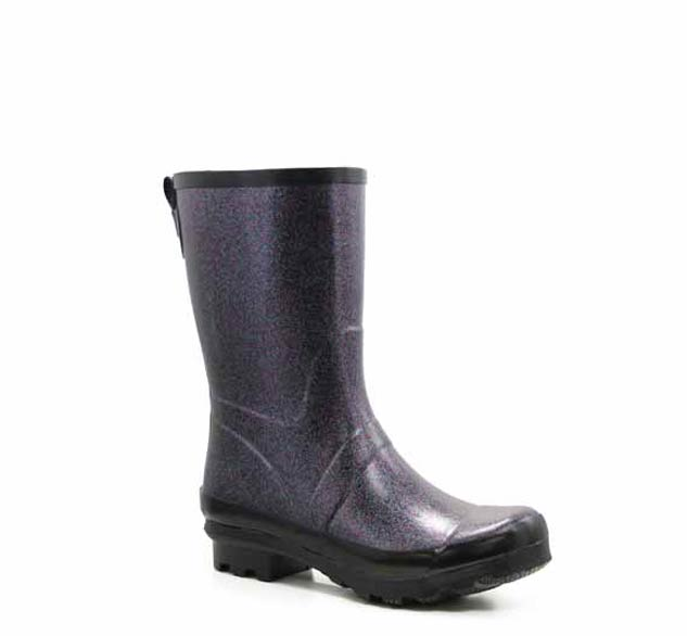 Women's Razzle Dazzle Mid Rain Boot - Black - Western Chief