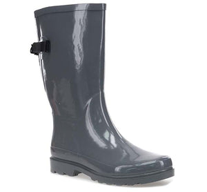 Women's Slate Flora Rain Boot - Gray