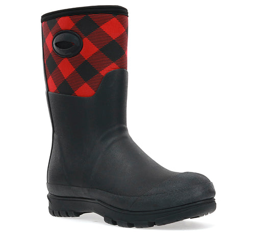 Women's Buffalo Polarprene Mid Boot - Red