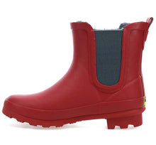 Women's Classic Chelsea Rain Boot - Red