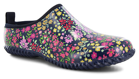 Women's Blooming Garden Clog - Navy