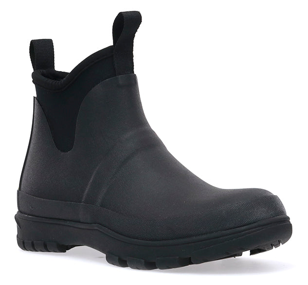 Women's Solid Chelsea Neoprene Boot - Black
