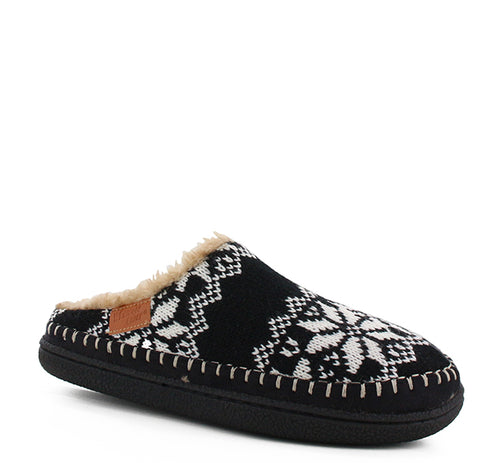 Women's Evelyn Slipper - Black