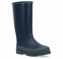 Kids Solid Youth Rain Boot - Navy