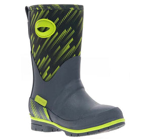 Kids Laser Neoprene Boot - Charcoal