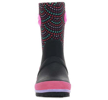 Kids Mod Dot Neoprene Boot - Black