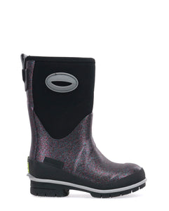 Kids Glitter Glam Neoprene Winter Snow Boot - Multi