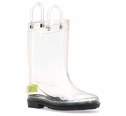 Kids See-Thru Rain Boot - Clear