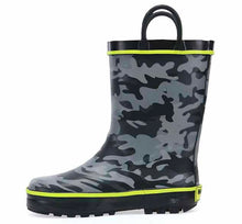 Kid's Camouflage Rain Boot Charcoal from Western Chief