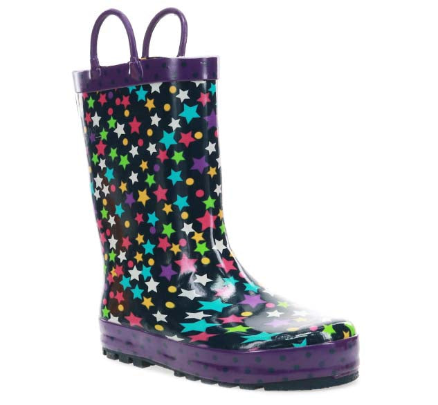 Kids Pop Stars Rain Boot - Navy