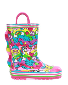 Kids 2 Cool Rain Boot - Multi