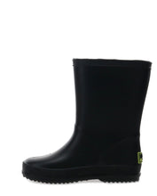Kids PVC Task Rain Boot - Black