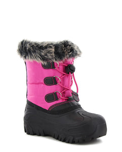 Kids Arcterra Winter Snow Boot - Pink
