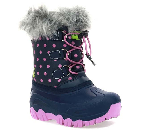 Kids Arcterra Snow Boot - Navy