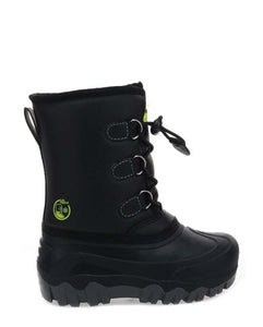 Kids Arcterra Winter Snow Boot - Black