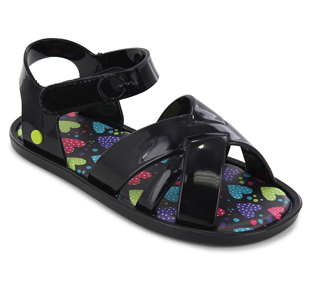 Kids Sandbox Sandal - Black