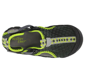 Kids Rainier Sandal - Charcoal