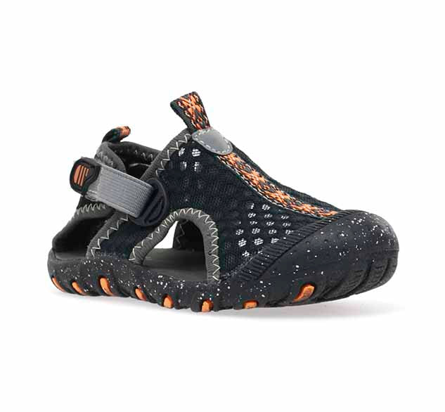 Kids Rainier Sandal - Black