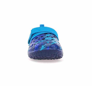 Kids Recess Shark Sandal - Blue