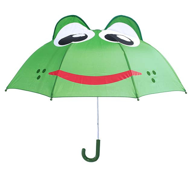 Kids Frog Umbrella - Green