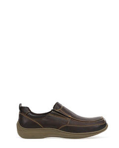 Men's Brisk Shoe (Wide) - Brown