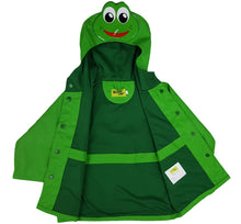 Kids Frog Rain Coat - Green - Western Chief