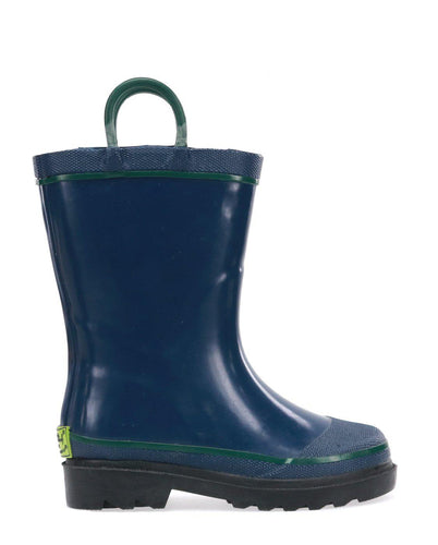 Kids Firechief 2 Rain Boot - Navy