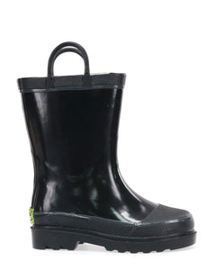 Kids Firechief 2 Rain Boot - Black