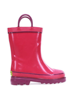 Kids Firechief 2 Rain Boot - Pink