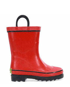 Kids Firechief 2 Rain Boot - Red
