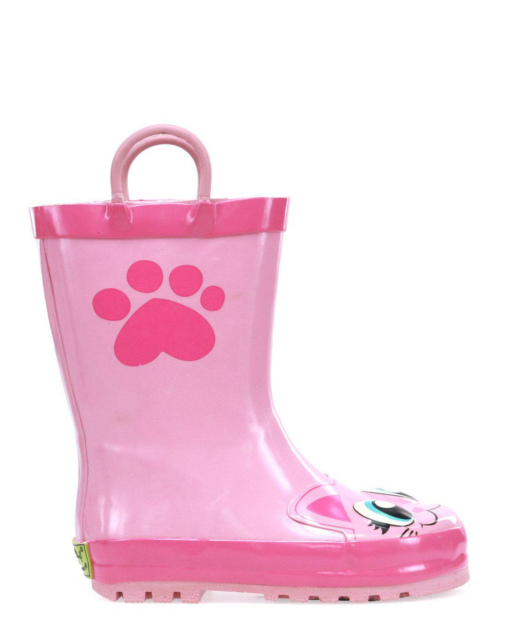 Kids Khloe the Kitty Rain Boots - Pink