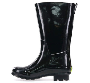 Kids Youth Classic Tall Rain Boots - Black