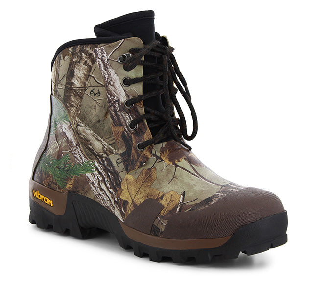 Mens Realtree Xtra Neoprene Combat 6 Inch Boot - Brown - Western Chief
