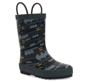 Kids Batman Hangout Rain Boot - Black