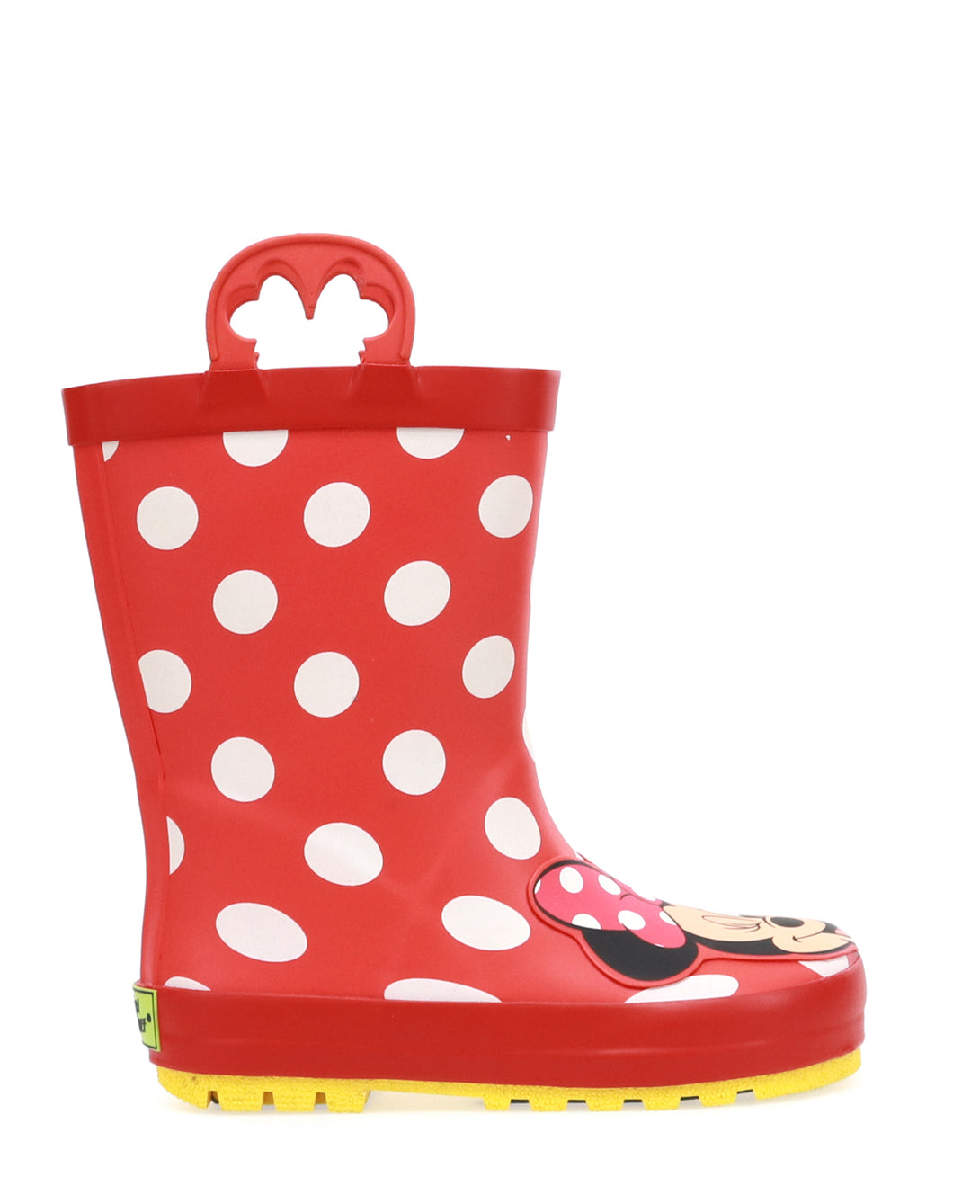 Kids Minnie Mouse Rain Boots - Red
