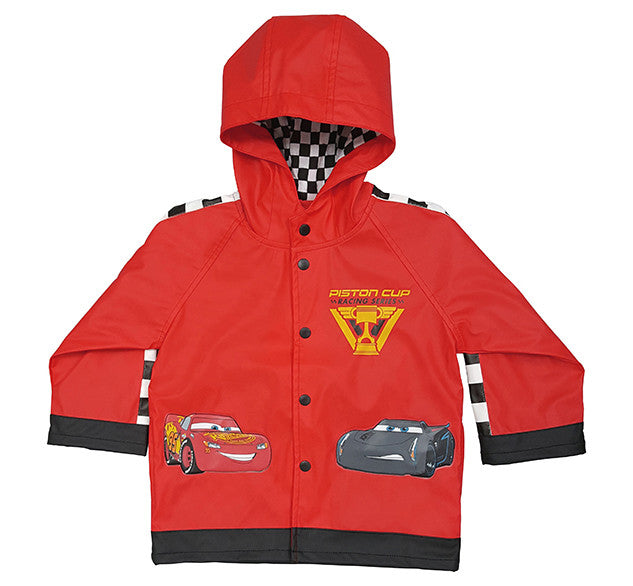 Kids Lightning Mcqueen Rain Coat Red Western Chief