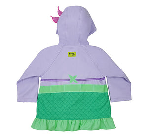 Kids' Ariel Rain Coat - Aqua - Western Chief